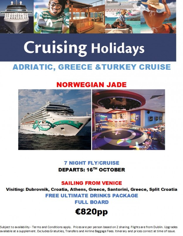Norwegian Jade - Med Cruise