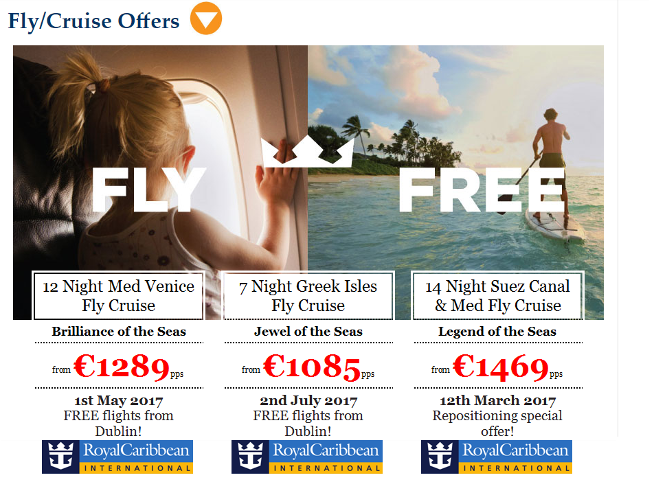 Superb Free Flight Cruise Offers & Giveaway Long Haul Flights!